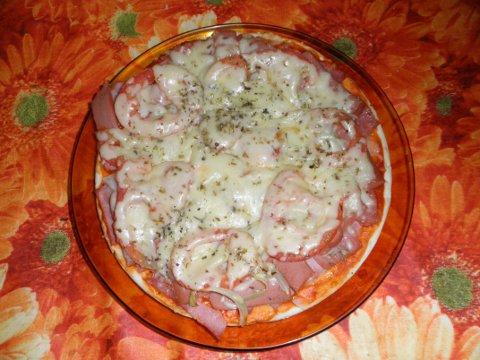 Pizza sin lactosa