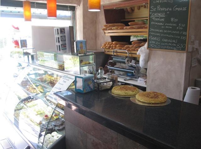 Comer fuera: Bouquet Pastelería