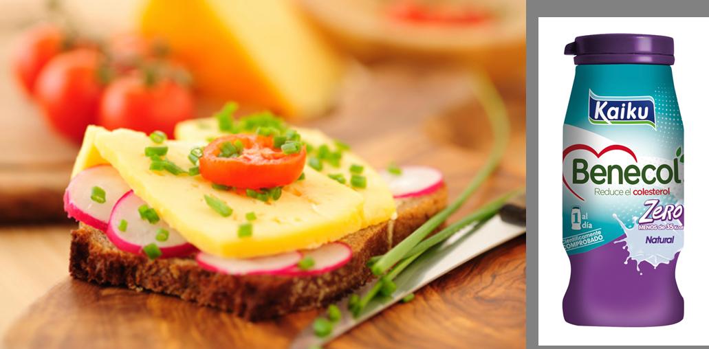 pan y queso y benecol