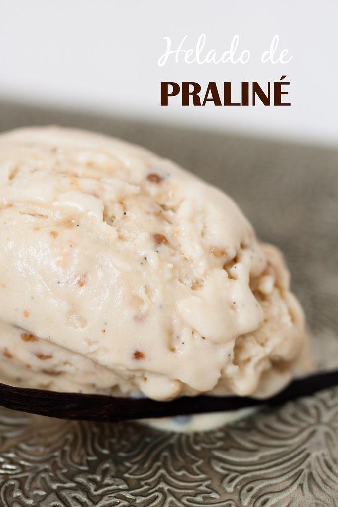 ¿Quieres hacer un helado de praliné casero?
