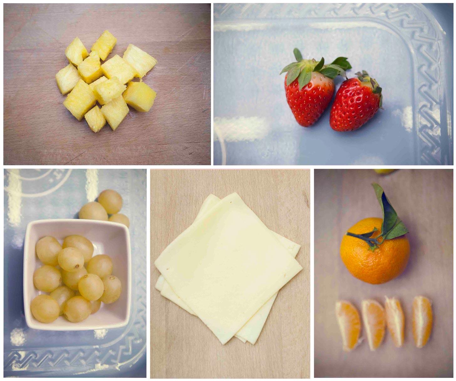 Platos ligeros con fruta