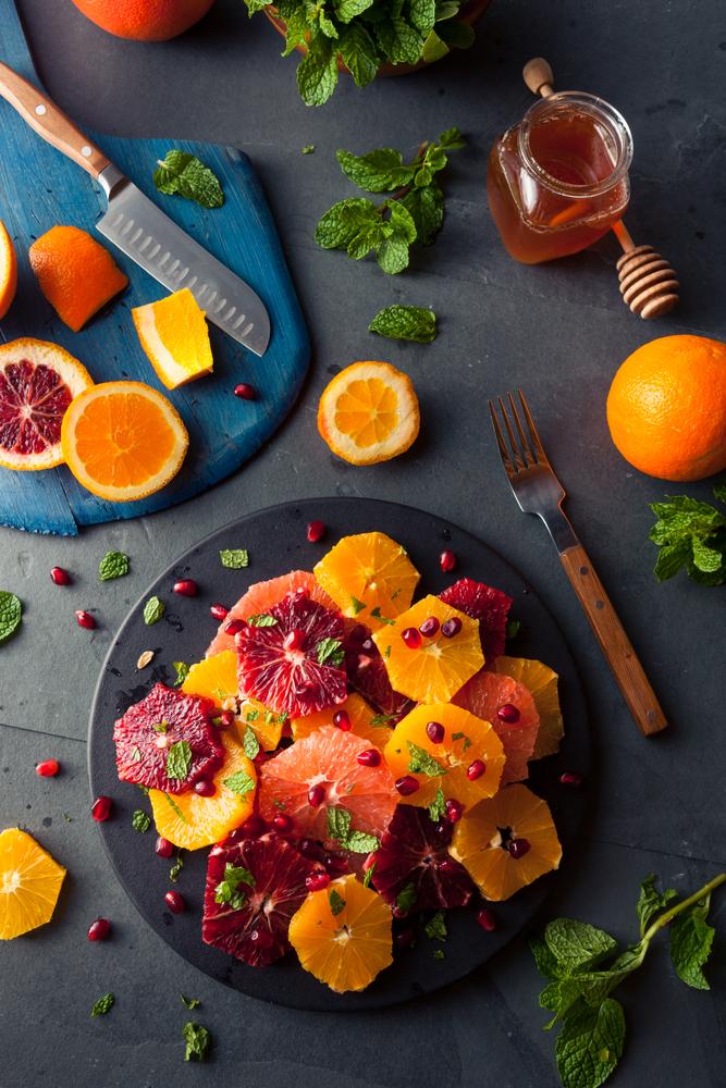 Ensaladas fáciles originales, menús de invierno