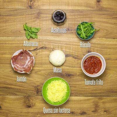 Vídeo de receta de pizza sin lactosa