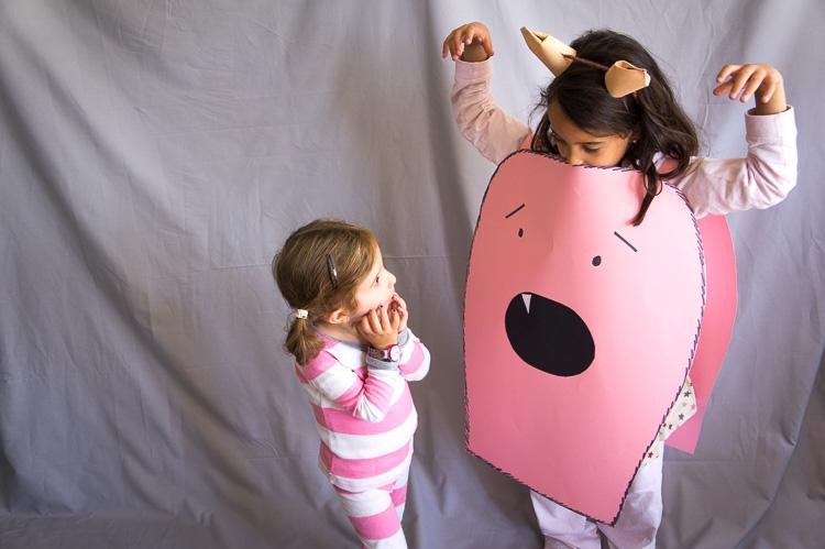 Disfraces de Halloween para niños que puedes hacer en casa con tus hijos