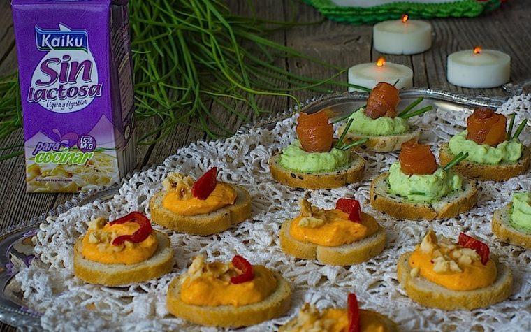 Recetas de Navidad: aperitivos sin lactosa ligeros para la Nochebuena
