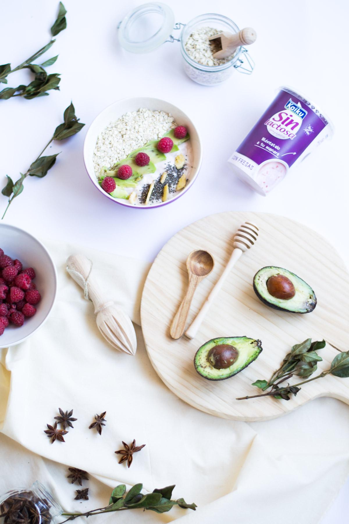 kaiku-sin-lactosa-como-comer-sano-receta-smoothie-bowl