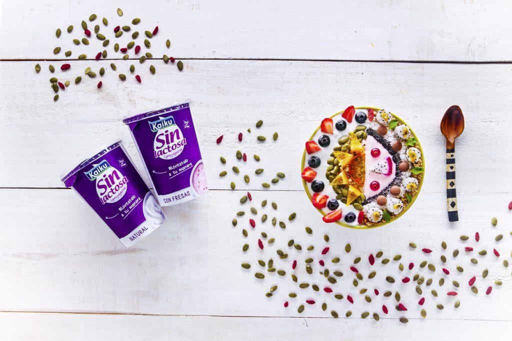 Cuida tu piel con yogur