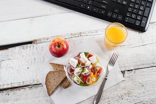 recetas saludables para llevar a la oficina