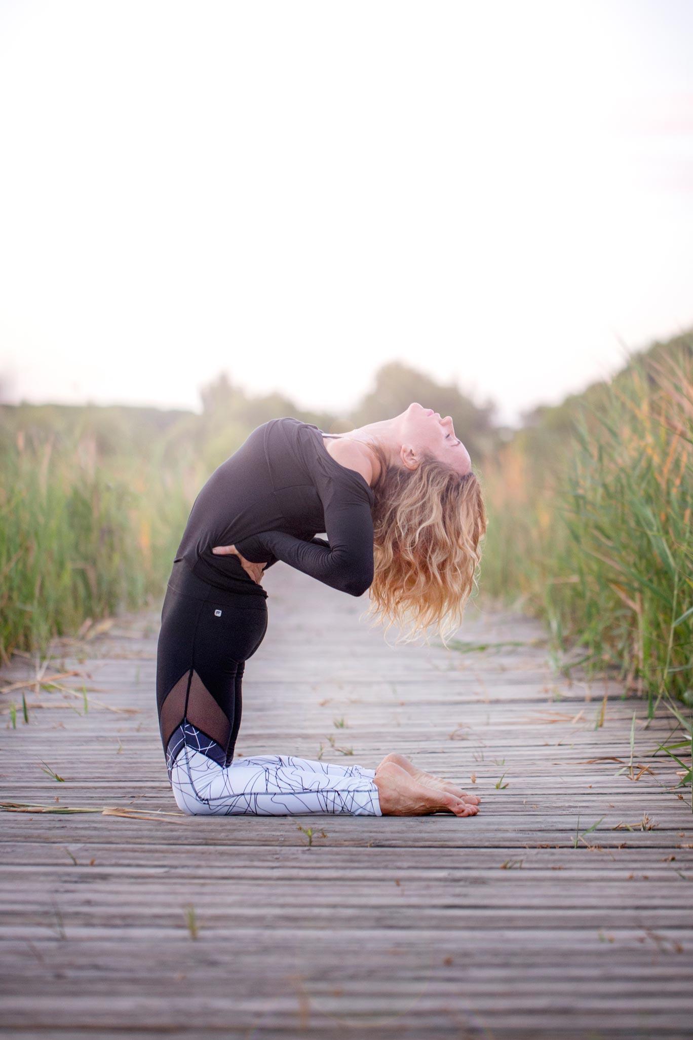 Gema Payá: consejos para hacer yoga en bajas temperaturas