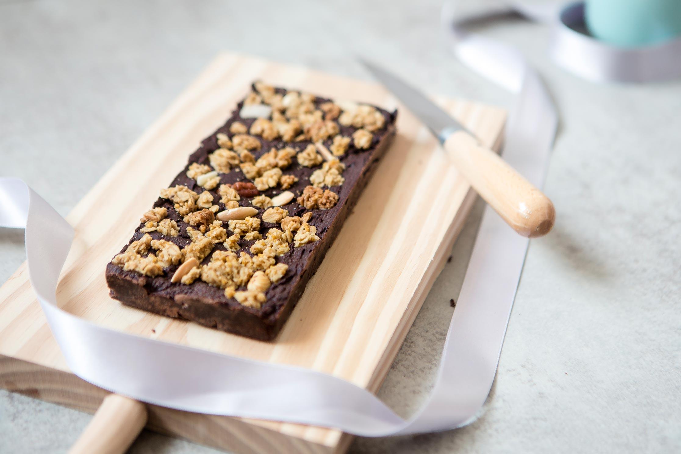 turrón de chocolate sin lactosa
