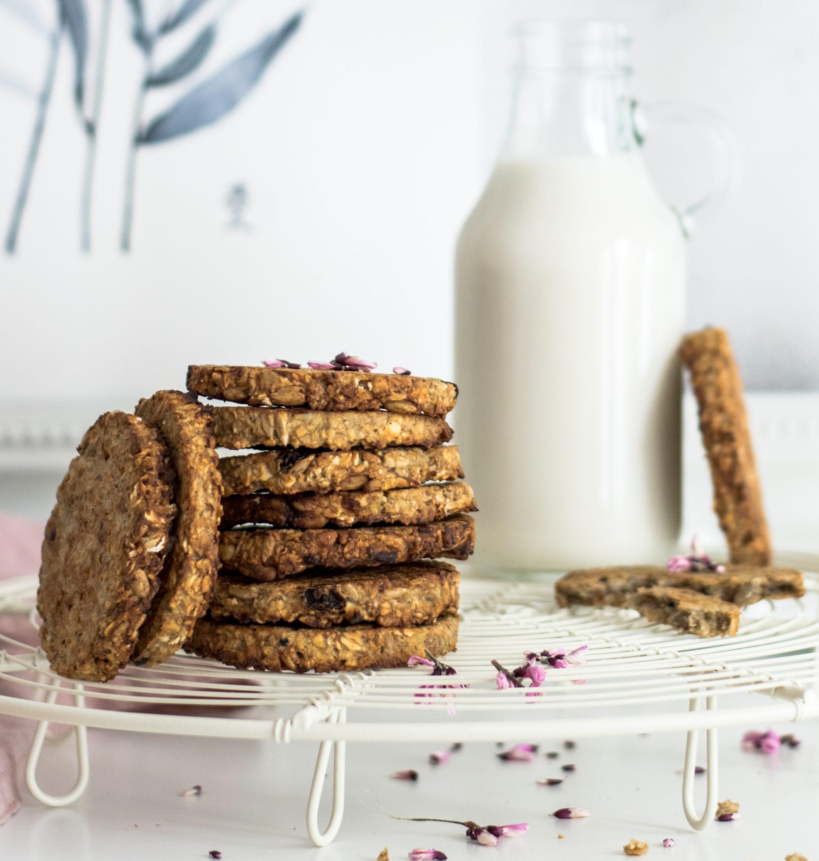 galletas de platano sin lactosa