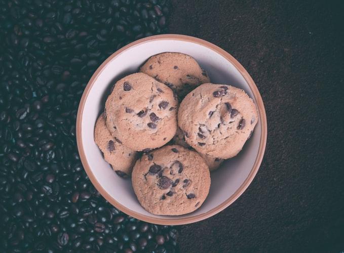 galletas de chocolate sin lactosa