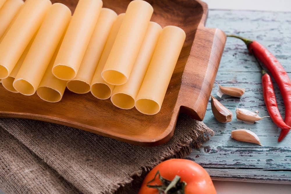 Como preparar canelones sin lactosa