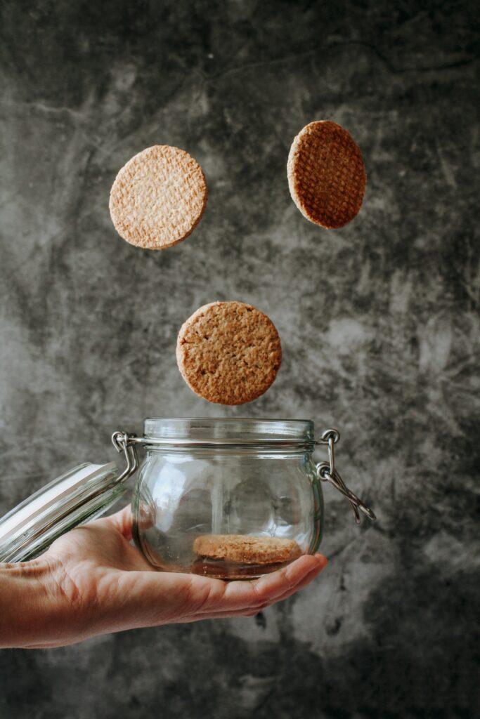 Conservar masa de galletas