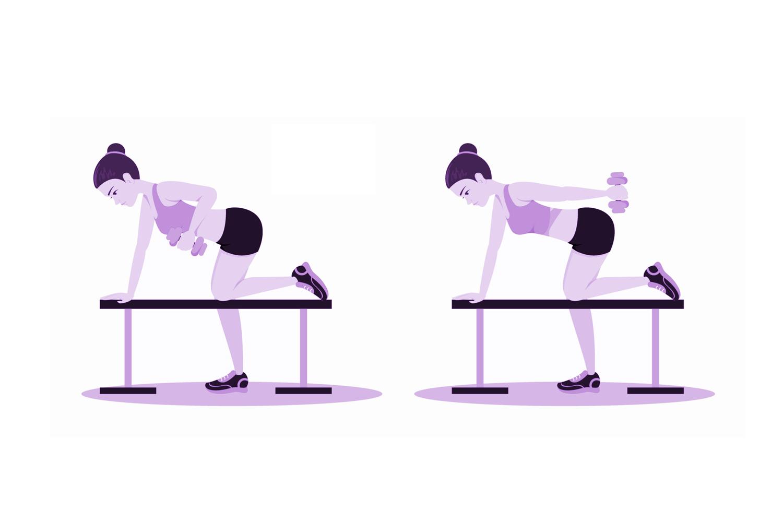 tonificar brazos haciendo gimnasia en casa