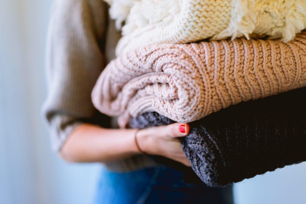 cambio de armario ropa de invierno