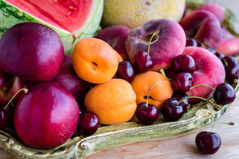 frutos rojos panacota sin lactosa