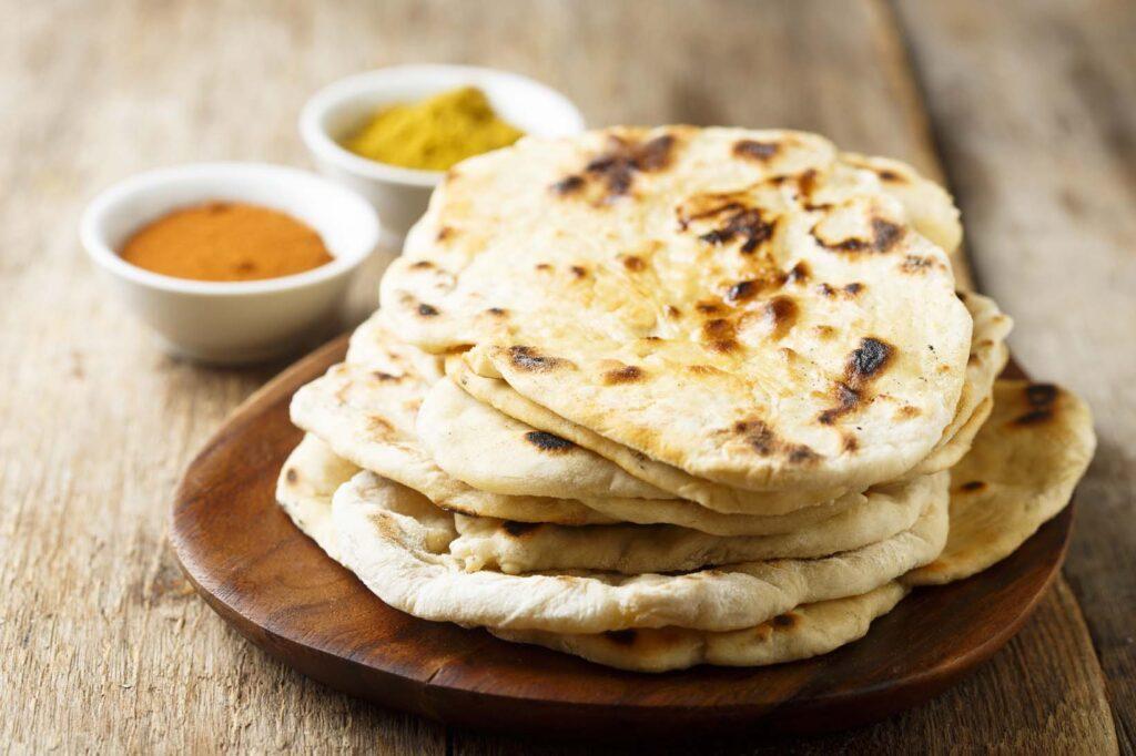 Pan naan: aprende a preparar pan indio con queso sin lactosa