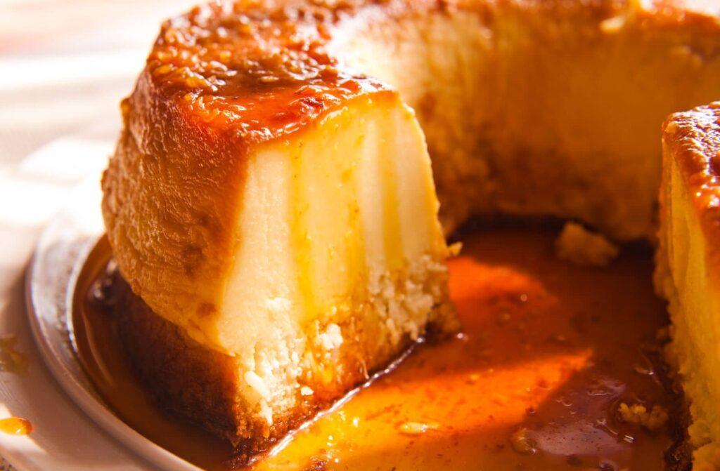 receta de pudin de pan