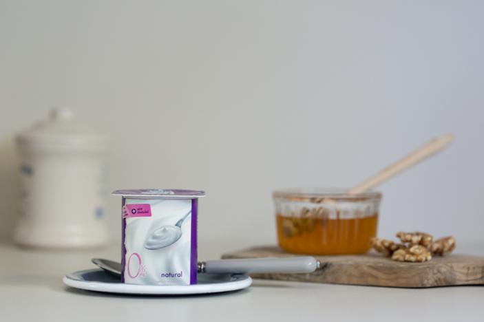 Yogures sin lactosa desnatados